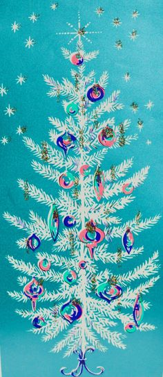 Ideas Vintage Wallpaper Retro Christmas Cards For 2019 Christmas Tree Art, Old Fashioned Christmas, Diy Christmas Tree, Christmas Past, Christmas Greetings, Christmas Decorations, Christmas Artwork, Vintage Christmas Images, Retro Christmas