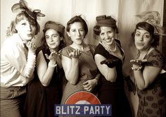 Blitz Party - A 1940's night out in London   DesignMyNight
