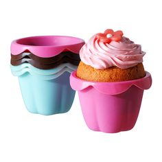 IKEA Fan Favorite: SOCKERKAKA baking cups. Pastry dough will not stick to the microwave-safe, dishwasher-safe, and oven-safe silicone mold.