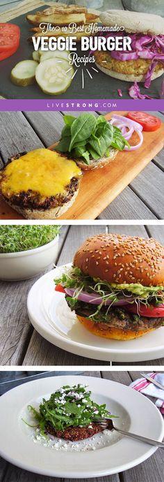 The 10 Best Homemade Veggie Burger Recipes