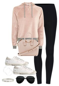 """""""Untitled #3400"""" by theaverageauburn on Polyvore featuring Topshop, Golden Goose, Givenchy, claire's and Cartier"""