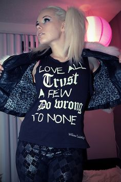 Kerli - love this philosophy.    got to have this shirt