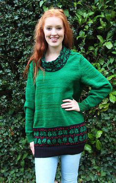 This original designer knitwear machine knitted pattern from Award Winning Designer Marianne Henio is for one of Marianne's Christmas knitting pattern books – the Holly Jumper. Originally designed for the new Christmas Collection 1, the saddle sleeve Holly Jumper has a row of holly and berries around the bottom and the cowl neck. The punchcard pattern is supplied. Jumper Patterns, Knit Patterns, Christmas Jumpers, Christmas Sweaters, Catwalk Design, Christmas Knitting Patterns, Pattern Books, Cowl Neck, Designer Knitwear