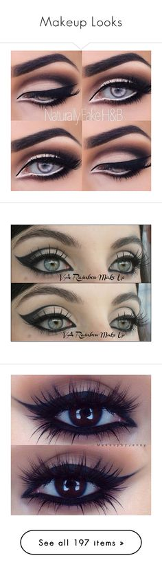 """Makeup Looks"" by gymholic ❤ liked on Polyvore featuring beauty products…"