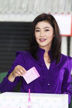 Yingluck Shinawatra Photos: Thai's Go To The Polls
