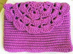 Monedero o bolso de una pieza tejido a crochet - Tejiendo Perú - YouTube