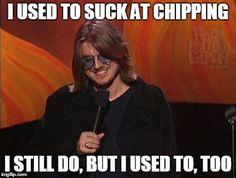 LOL! Me too. :/ | Rock Bottom Golf #RockBottomGolf