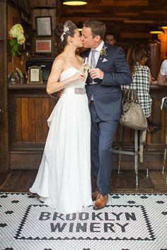Genevieve fell so in love with her Romona Keveza dress, that she had to bend the budget a little bit. We can see why!