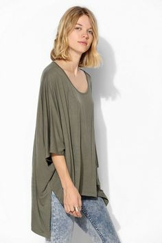Staring At Stars Drapey Tunic Tee #urbanoutfitters
