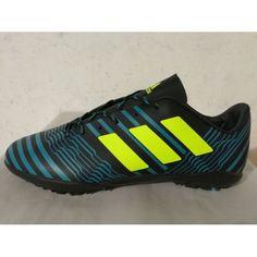 Scarpe Calcio Adidas Nemeziz 17.3 TF Giallo Blu Acquistare