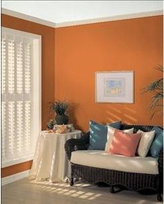 Pumpkin Spice Paint Color For The Home Pinterest Paint Colors Colors And Pumpkins