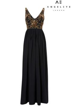 Buy Angeleye Embroidered Detail Maxi Dress from Next Austria