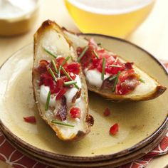 Potato Skins. #recipe #lowcal