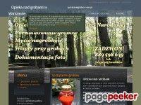 http://sprzataniegrobow.waw.pl