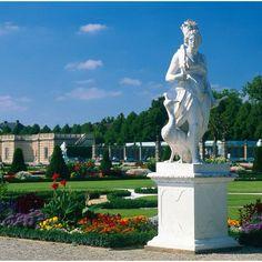 Great Garden of the Herrenhausen in Hannover Germany
