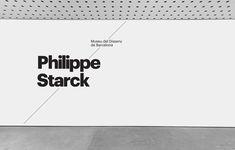 Atlas creates beautiful identity for new Barcelona Design Museum Museum Identity, Museum Branding, Environmental Graphic Design, Environmental Graphics, Philippe Starck, Barcelona, Sistema Visual, Typography Design, Branding Design