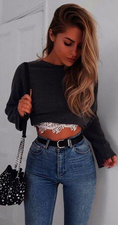 fashion Trends lace details summer look fashion Trends Mode Outfits, Chic Outfits, Trendy Outfits, Fall Outfits, Summer Outfits, Fashion Outfits, Fashion Trends, Fashion Ideas, Fashion Scarves