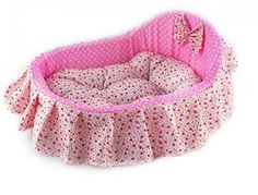 Princess Bed Pet Nest Dog Bed Cat Litter for Dogs and Cats S45x34x12cm Pink * Click on the image for additional details.-It is an affiliate link to Amazon. #DogBedsFurniture