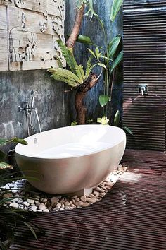 Best Spa Bathroom Ideas & Projects For 2019 - Garden design - Bathroom Decor Asian Bathroom, Japanese Bathroom, Bathroom Spa, Small Bathroom, Bathroom Ideas, Master Bathroom, Earthy Bathroom, Shower Ideas, Bathroom Goals