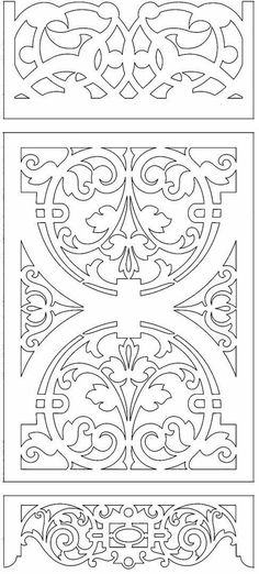 Aunt Martha's Iron On Transfer Patterns for Stitching, Embroidery or Fabric Painting, Patterns for Tea Towels/Kitchen Decor, Set of 5 - Embroidery Design Guide Stencil Patterns, Stencil Designs, Kirigami, Stencils, Scroll Saw Patterns, Islamic Art, Wood Carving, Leather Craft, Paper Cutting