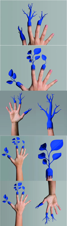 Metamorfosi Vegetali future sensing protheses 2014 Commons: Design for Finger disease