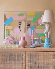 Pastel Decor, Pastel Home, Home Goods Decor, Home Decor Trends, Decor Ideas, Pastel Bedroom, Pastel Living Room, Cute Room Decor, Wall Decor