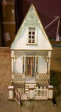 Little Ann Victorian Cottage 1:24 Scale Dollhouse