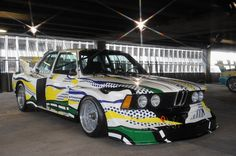 BMW 320i Group 5 Art Car #3 - Roy Lichtenstein