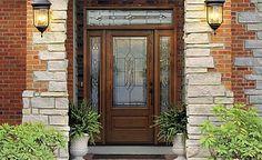 beautiful entry way door
