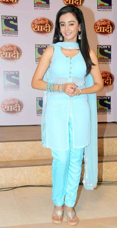 Zalak Desai at the launch of the new TV show 'Muh Boli Shaadi'. #Bollywood #Fashion #Style #Beauty