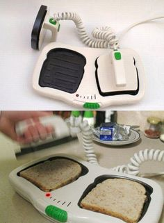Very unique toaster!   20 Cool Gizmos and Gadgets