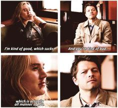 Meg and Cas