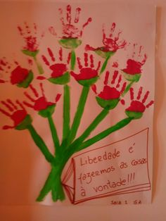 25 ABRIL Diy For Kids, Cool Kids, Carnations, Activities For Kids, Kindergarten, Education, Elsa, Fun, Holidays