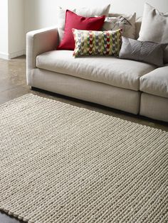 Our gorgeous Ropeweave rugs are sure to add texture to any space. Just like a giant knitted jumper - so cosy!! #therugcollection