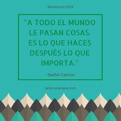 Date cuenta de que realmente depende de ti. #verdad #motivación #citas #tomaelcontrol #resolución2018