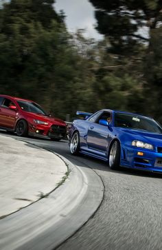 Evolution X & GT-R R34