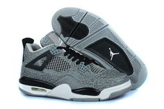 buy popular 0c8e3 67a73 Buy Nike Air Jordan 4 Mens Temporal Rift Grey Black Shoes New from Reliable  Nike Air Jordan 4 Mens Temporal Rift Grey Black Shoes New suppliers.