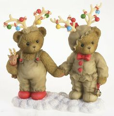 cherished teddies reindeer