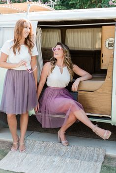 Fall in love with trendy, affordable, and designer quality bridesmaid dresses and separates by Revelry. Your bridesmaids will thank you. Bridesmaid Tops, Different Bridesmaid Dresses, Bridesmaids, Tulle Skirts, Chiffon Dresses, Tulle Dress, Bus Girl, Girl Standing, Sequin Gown