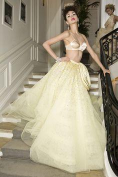 Christian Dior at Couture Fall 2009 - StyleBistro