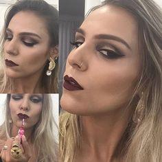 #makeup #maquiagem #maquiagensbrasil #makeuplover #makeupaddict #hudabeauty #pausaparafeminices #belezei #limecrime #lipstick #batom
