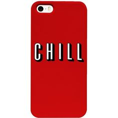 Mandy's Chill Phone Case ($30) ❤ liked on Polyvore featuring accessories and tech accessories