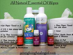 Essential Oil Wipes