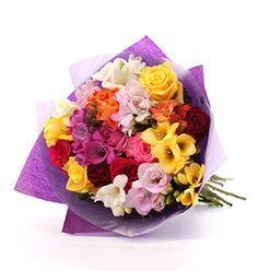 Rose & Freesia Bouquet - £30.99