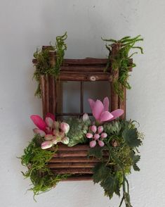 Mini fairy window 3 1 2 inch by 3 1 2 inch size add fairy shoes see below option~ handcrafted by olive ~ always one of a kind 24 gorgeous outdoor fairy garden for small garden alternative ideas Fairy Shoes, Garden Storage Shed, Deco Floral, Fairy Garden Accessories, Nature Crafts, Floral Arrangements, Diy And Crafts, Floral Wreath, Etsy