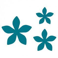 Flowers # 6 Steel-Rule Die | AccuCut Craft