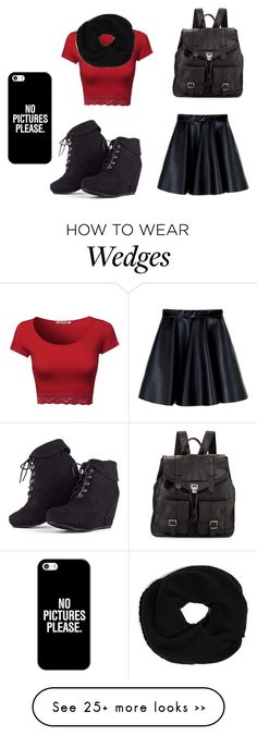 """""""school day"""" by anchy-90210 on Polyvore featuring MSGM, Proenza Schouler, DKNY and Casetify"""