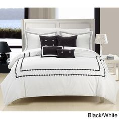 Mandalay 7-piece Embroidered Comforter Set | Overstock.com Shopping - Great Deals on Comforter Sets