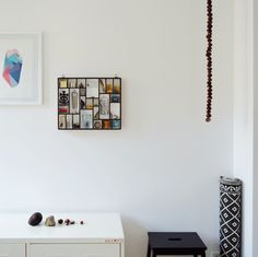 typecase with kitchen tools and chestnut chain in my kitchen. print by #gjode