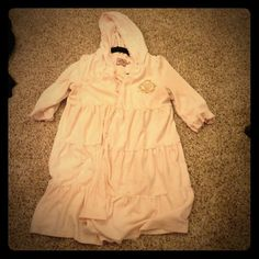 Authentic Juicy Couture Ruffle Robe